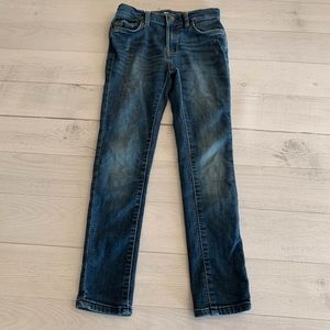 7 For All Mankind Size 8 Girl Skinny Jeans